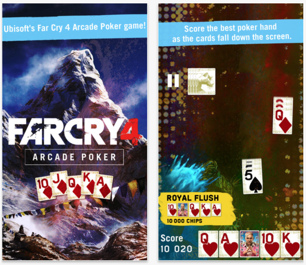 Ubisoft releases 'Arcade Poker' tie-in game for Far Cry 4